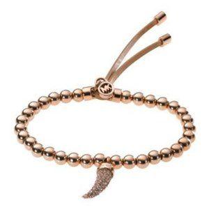 Michael Kors Beaded Horn Bracelet